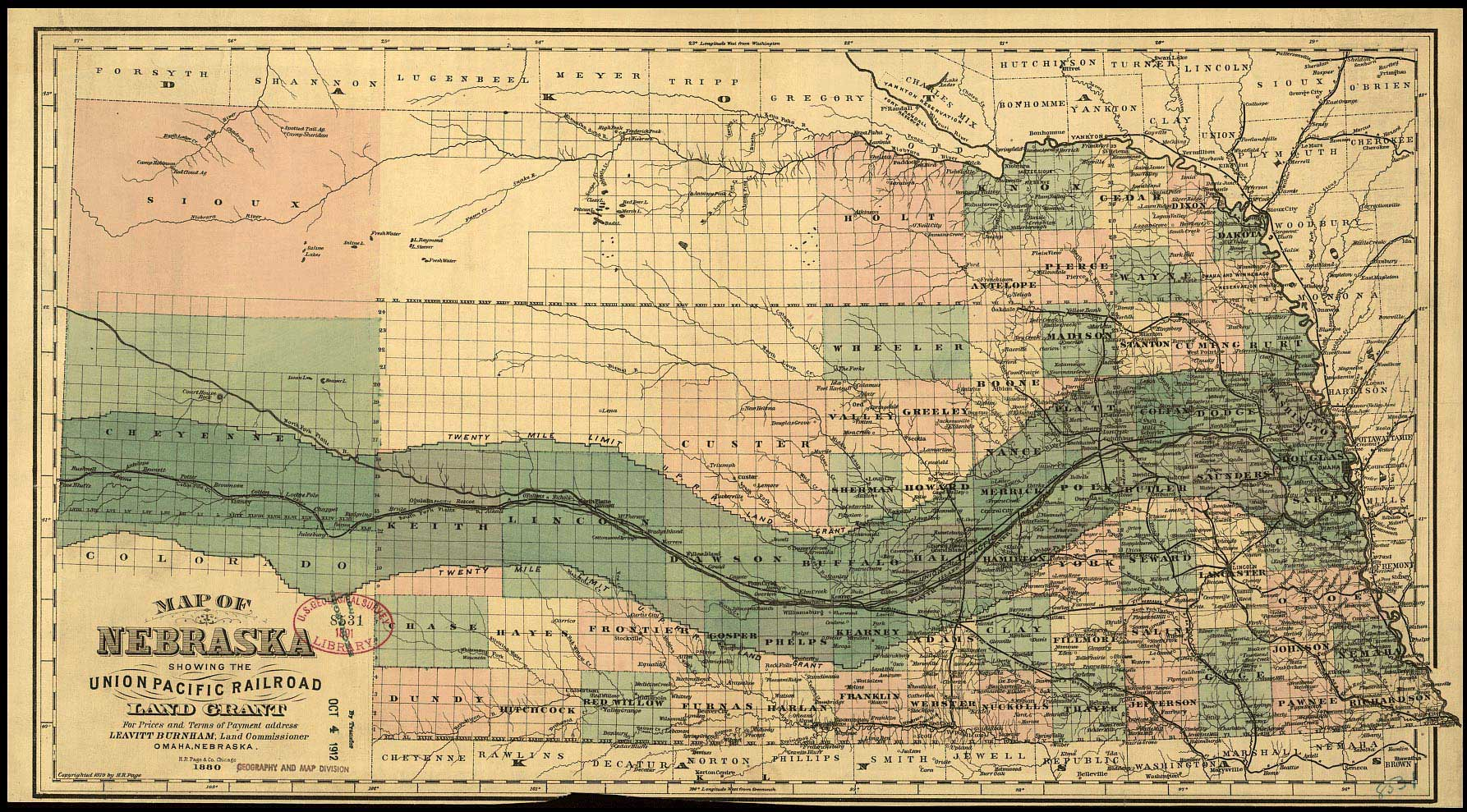 THE ARCHITECTURE OF VILLAINS Blog Archive The Robber Barons - Railroad map us 1880